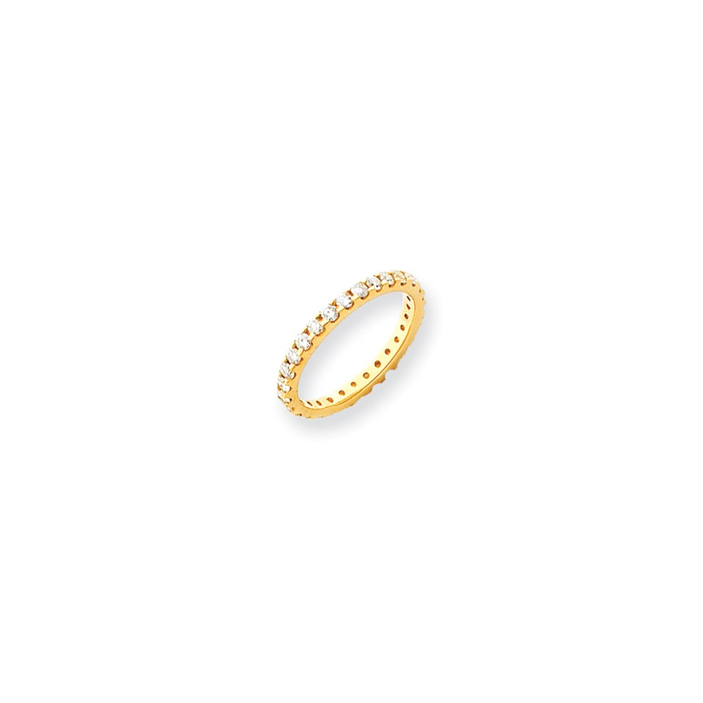 Jewelry Adviser rings 14k Eternity Band Mounting Size 7.5 at Sears.com