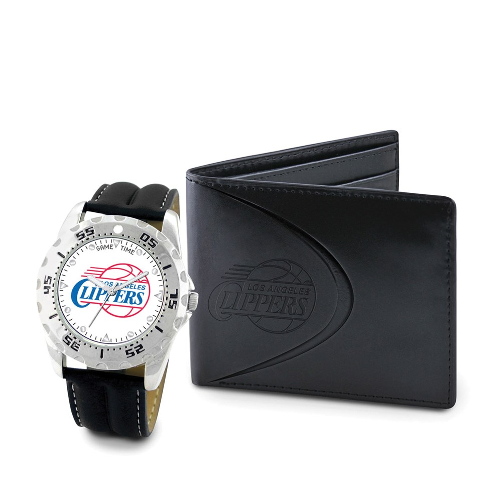 Jewelry Adviser Nba Watches Mens NBA La Clippers Watch & Wallet Set at Sears.com