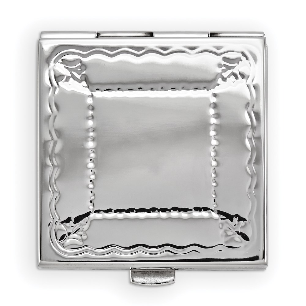 Jewelry Adviser Gifts Engravable Silver-tone Pillbox at Sears.com