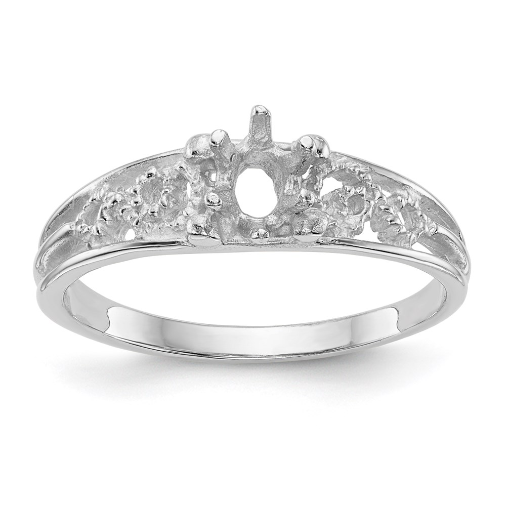 Jewelry Adviser rings 14kw 1 Stone Family Ring Mounting at Sears.com