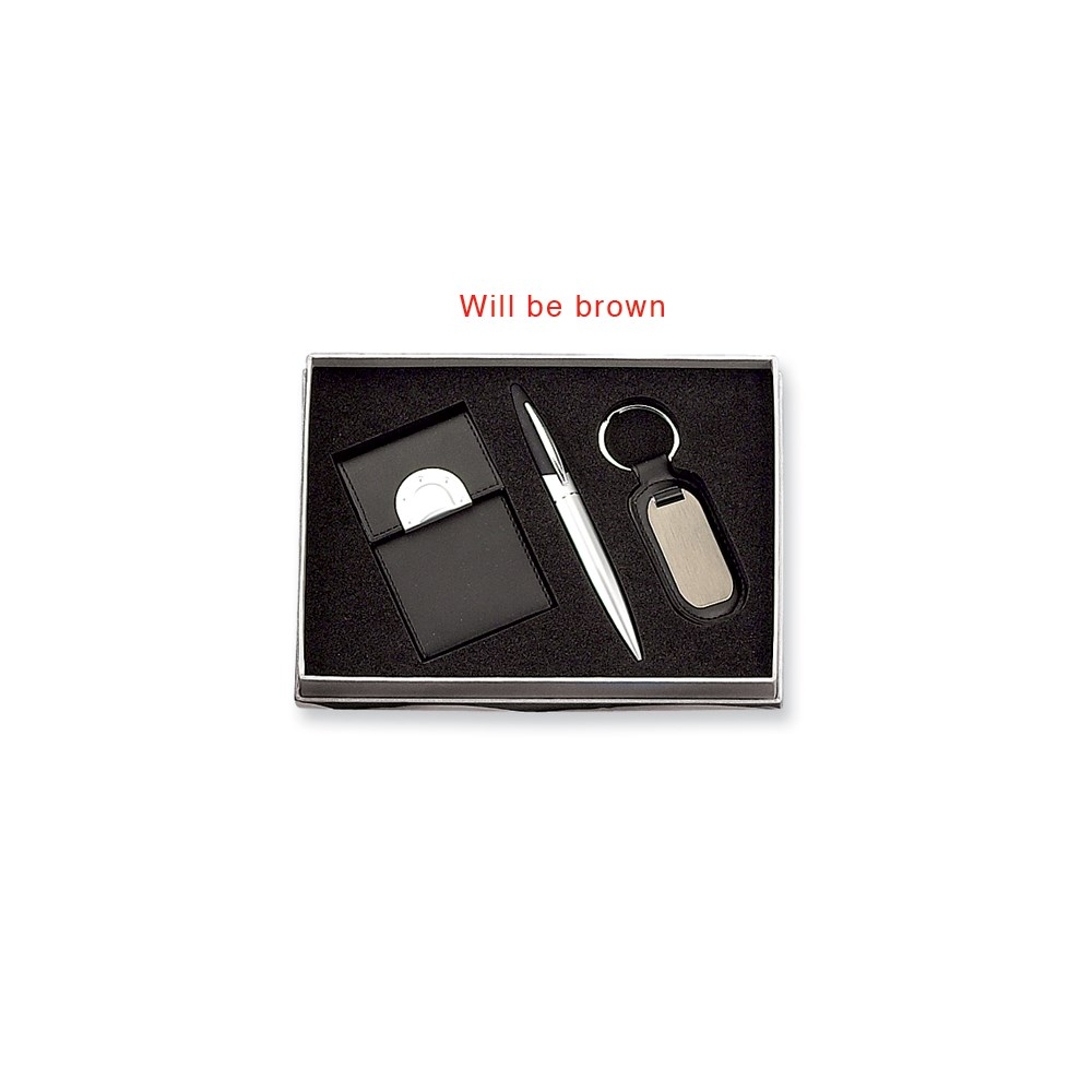 Jewelry Adviser Gifts Business Card Holder,Pen and Key Ring Set at Sears.com